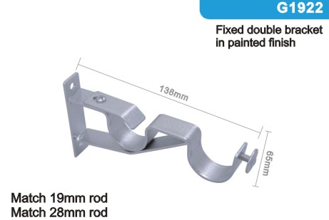 G1922 bracket metal curtain bracket